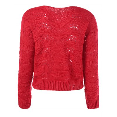 ribbed-openwork-sweater