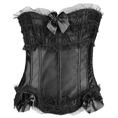 Ruffles Lace Spliced Slimming Corset