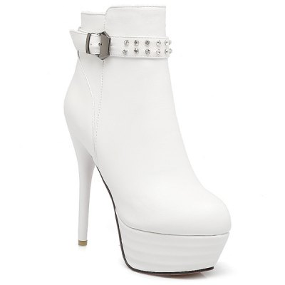 Stiletto Heel Ankle Boots