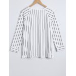 3/4 Sleeves Striped T-Shirt and Pants Sleepwear deal