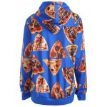 cheap Pullover Pizza 3D Print Hoodie