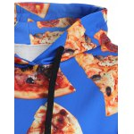 Pullover Pizza 3D Print Hoodie deal