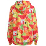 cheap Pullover Fruit 3D Print Hoodie