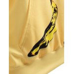 best Pullover Banana 3D Print Yellow Hoodie