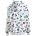 cheap Pullover Cartoon 3D Print Hoodie