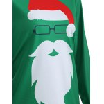 Santa Claus Pattern Christmas T-Shirt for sale
