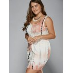 Plus Size Tie-Dye Sheath Dress deal