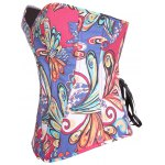 cheap Colorful Printed Steel Boned Corset