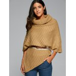 best Cowl Neck Poncho Sweater