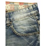Vintage Broken Hole Straight Leg Jeans deal