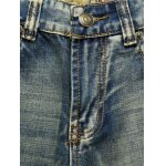 Vintage Broken Hole Straight Leg Jeans for sale