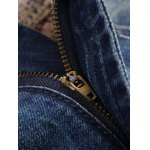 Patch Straight Frayed Jeans deal