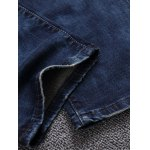 Broken Hole Patch Design Jeans for sale