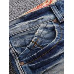 Broken Hole Straight Leg Jeans for sale
