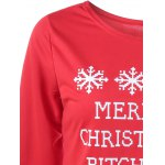 Merry Christmas Bitches Graphic Sweatshirt deal