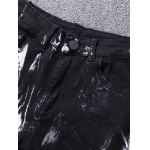 Wolf Print Zip Fly Jeans deal