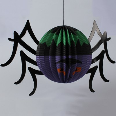High Quality Spider Paper Lantern Halloween Party Decoration
