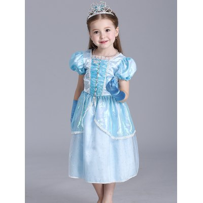 Christmas Princess Cosplay Midi Dress