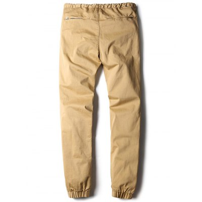 Patched Zipper Pocket Drawstring Jogger PantsMens Pants<br>Patched Zipper Pocket Drawstring Jogger Pants<br><br>Style: Casual<br>Pant Style: Jogger Pants<br>Pant Length: Long Pants<br>Material: Cotton Blends<br>Fit Type: Regular<br>Front Style: Flat<br>Closure Type: Zipper Fly<br>Waist Type: Mid<br>With Belt: No<br>Weight: 0.620kg<br>Package Contents: 1 x Pants
