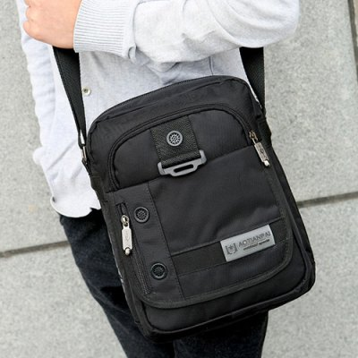 Zippers Nylon Deep Colour Crossbody BagMens Bags<br>Zippers Nylon Deep Colour Crossbody Bag<br><br>Gender: For Men<br>Pattern Type: Solid<br>Closure Type: Zipper<br>Main Material: Nylon<br>Length: 29CM<br>Width: 10CM<br>Height: 23CM<br>Weight: 0.520kg<br>Package Contents: 1 x Crossbody Bag
