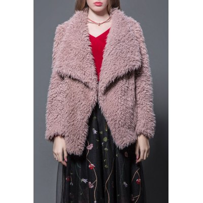 Faxu Fur Fluffy Coat