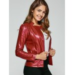 Fitting Zip-Up Biker Jacket deal