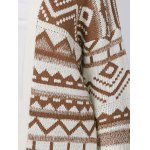 Relaxed Fringe Jacquard Cardigan for sale