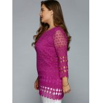 Hollow Out Lace Blouse deal