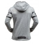 cheap Morer Hoodie with Zipper Embellishment Letter Print