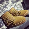 Slip On Suede Ankle Boots for sale