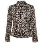 Lapel Leopard Blazer photo