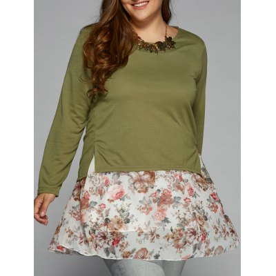 Loose Floral T-Shirt