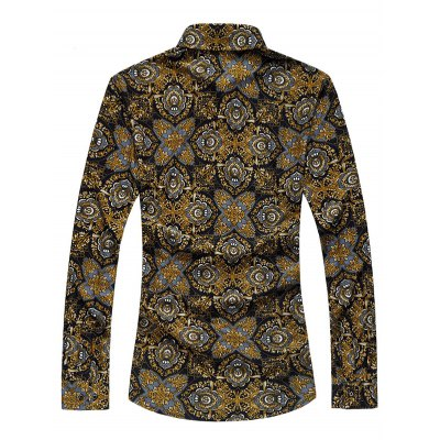 Plus Size Vintage Florals Print Long Sleeve ShirtPlus Size Tops<br>Plus Size Vintage Florals Print Long Sleeve Shirt<br><br>Shirts Type: Casual Shirts<br>Material: Cotton,Polyester<br>Sleeve Length: Full<br>Collar: Turn-down Collar<br>Weight: 0.350kg<br>Package Contents: 1 x Shirt