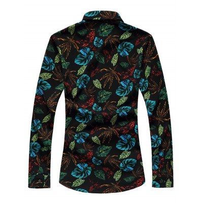 Plus Size 3D Colorful Leaves Print Long Sleeve ShirtPlus Size Tops<br>Plus Size 3D Colorful Leaves Print Long Sleeve Shirt<br><br>Shirts Type: Casual Shirts<br>Material: Cotton,Polyester<br>Sleeve Length: Full<br>Collar: Turn-down Collar<br>Weight: 0.350kg<br>Package Contents: 1 x Shirt