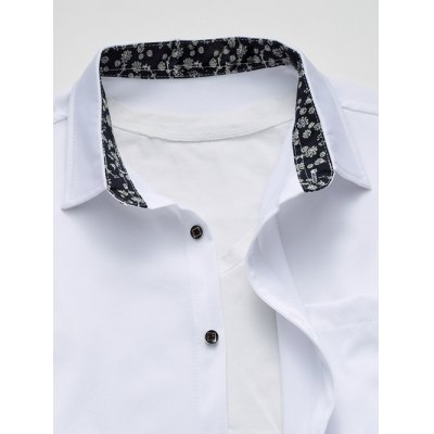 Long Sleeve Floral Printed Collar Pocket ShirtMens Shirts<br>Long Sleeve Floral Printed Collar Pocket Shirt<br><br>Shirts Type: Casual Shirts<br>Material: Cotton,Polyester<br>Sleeve Length: Full<br>Collar: Turn-down Collar<br>Weight: 0.400kg<br>Package Contents: 1 x Shirt