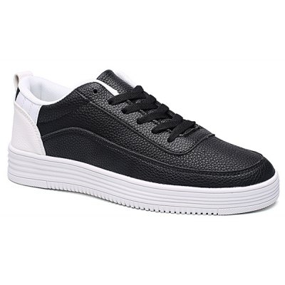 Breathable Lace Up Casual Shoes