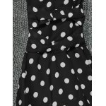 best Knitted Polka Dot Layer Look Dress