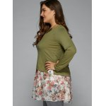 Ruched Floral T-Shirt deal