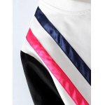Zipped Striped Bomber Jacket deal