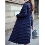 Button Up Long Quilted Coat deal