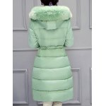 Hooded Long Quilted Coat deal