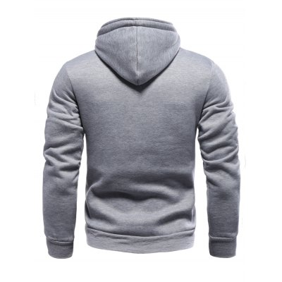 Color Block Splicing Oblique Buttons Embellished HoodieMens Hoodies &amp; Sweatshirts<br>Color Block Splicing Oblique Buttons Embellished Hoodie<br><br>Material: Cotton,Polyester<br>Clothing Length: Regular<br>Sleeve Length: Full<br>Style: Fashion<br>Weight: 0.600kg<br>Package Contents: 1 x Hoodie