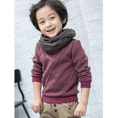 Kids Parallel Pullover Sweater