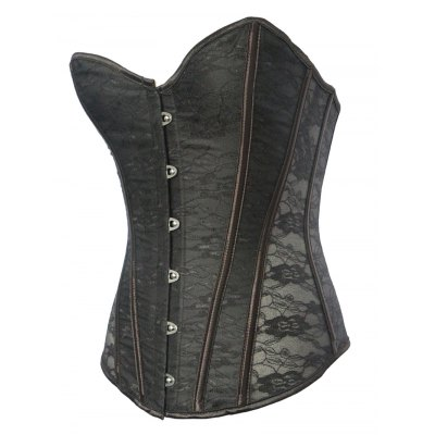 Classic Lace Steel Boned Corset Top