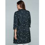 best Plus Size Stars Printed Loose Sun-Proof  Coat
