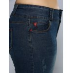 Pencil Plus Size Skinny Jeans photo
