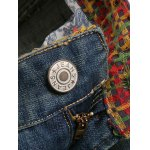 best Pocket Design Zipper Fly Scratched Tapered Jeans