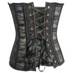 Classic Lace Steel Boned Corset Top for sale