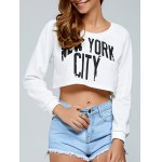 New York City Crop Top