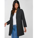 Single-Buttoned Slimming Coat deal